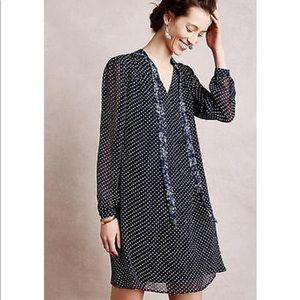 Anthropologie 11.1 Tylho Isla Chiffon Tunic Dress